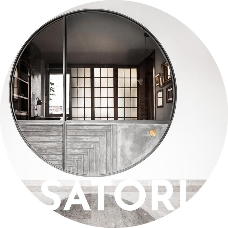 bottega di architettura SATORI | solo una vetrata interna