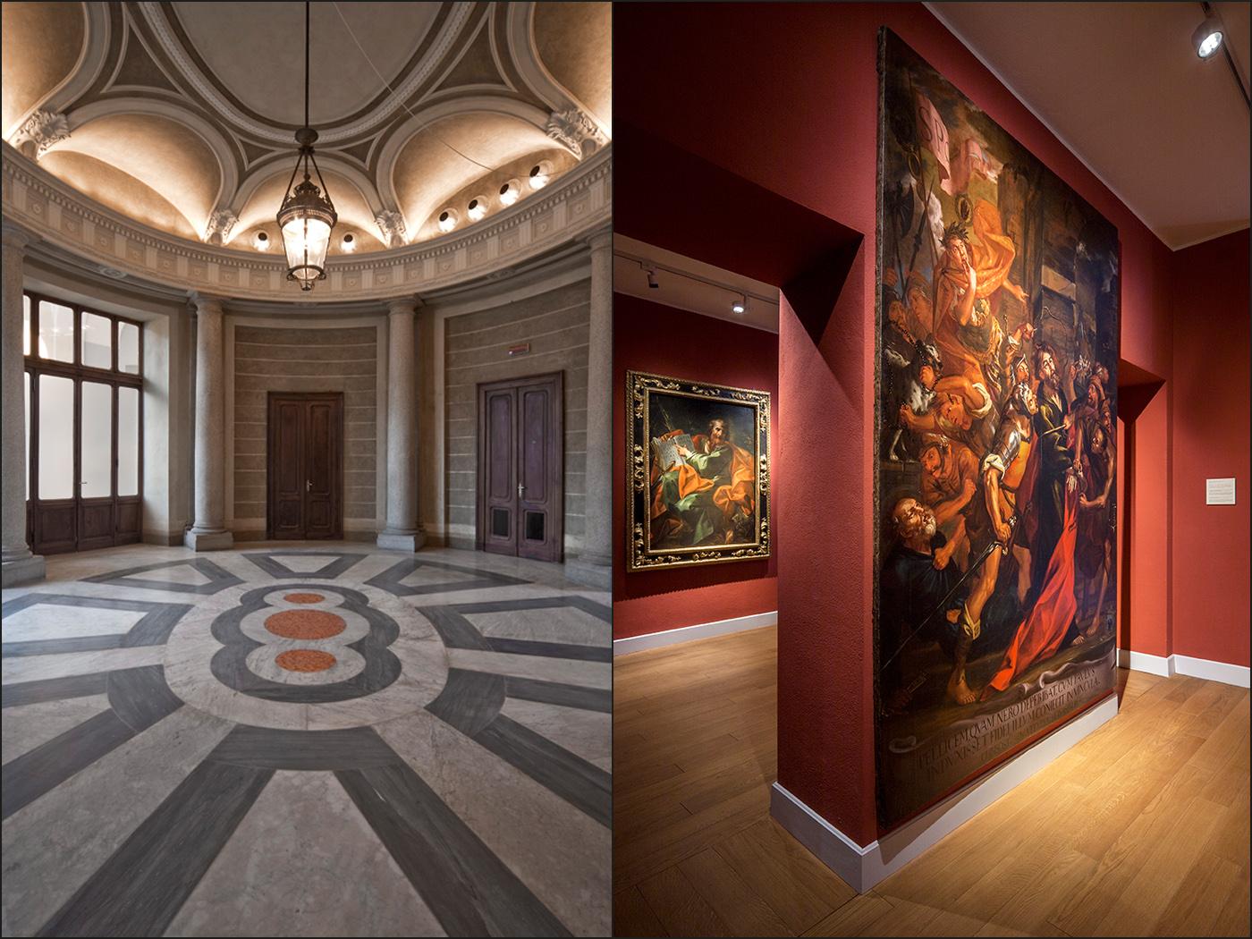 Restauro e trasformazione in uffici di un palazzo ottocentesco. Quadreria di San Paolo e spazi aulici | Bottega di Architettura