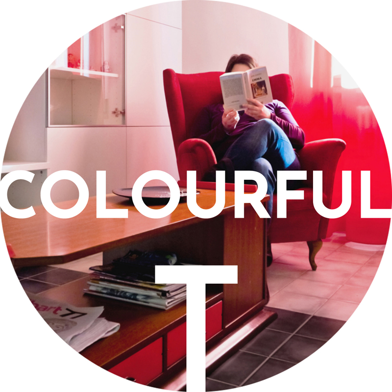 bottega di architettura COLOURFUL T | appartamento privato