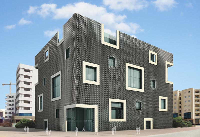 Il nuovo centro direzionale per la Banque Tuniso-Libyenne a Tunisi. Vista esterna | Bottega di Architettura