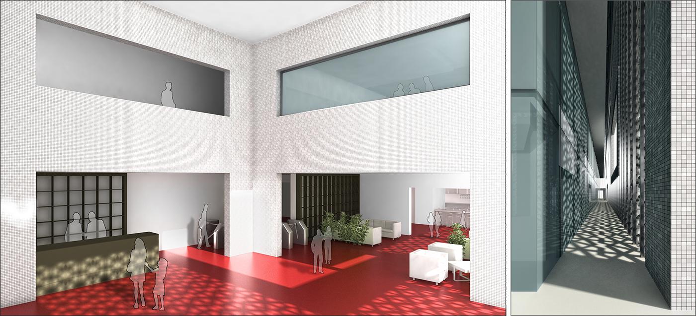 Il nuovo centro direzionale per la Banque Tuniso-Libyenne a Tunisi. Viste | Bottega di Architettura