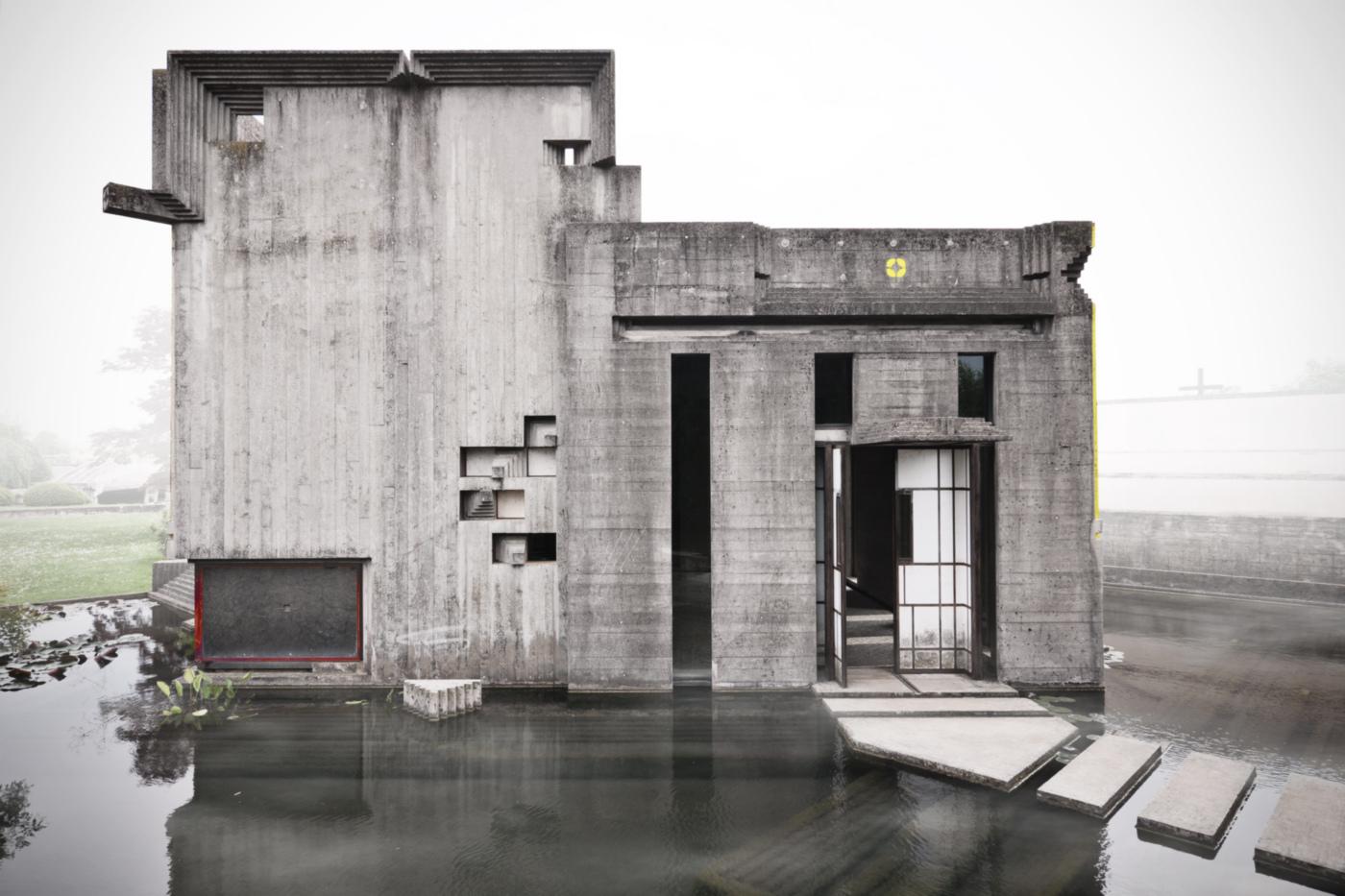 La Tomba Brion di Carlo Scarpa nelle fotografie di Carlo Deregibus | isola decima