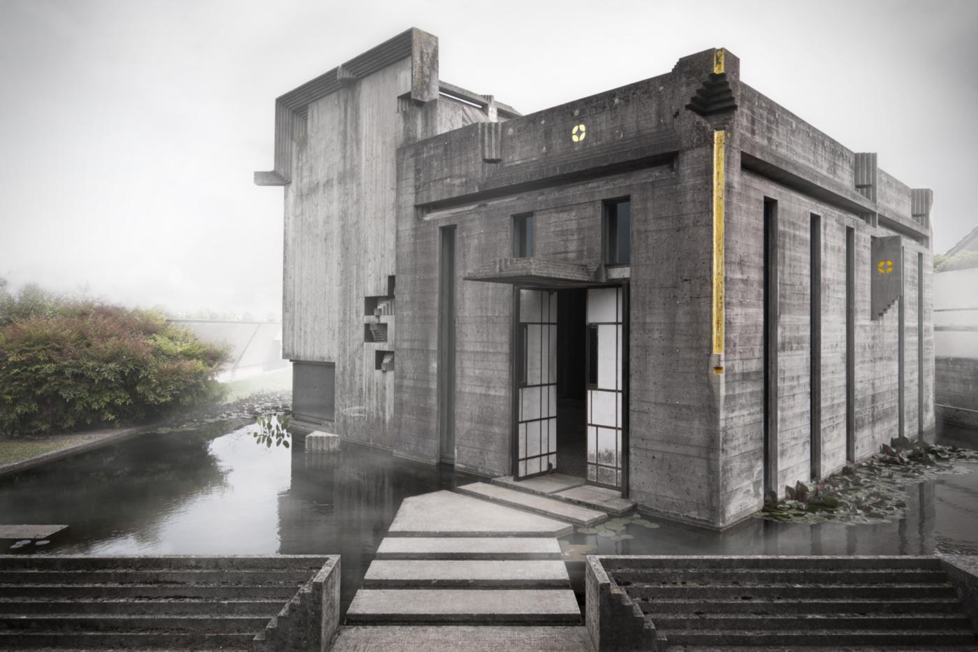 La Tomba Brion di Carlo Scarpa nelle fotografie di Carlo Deregibus | isola seconda