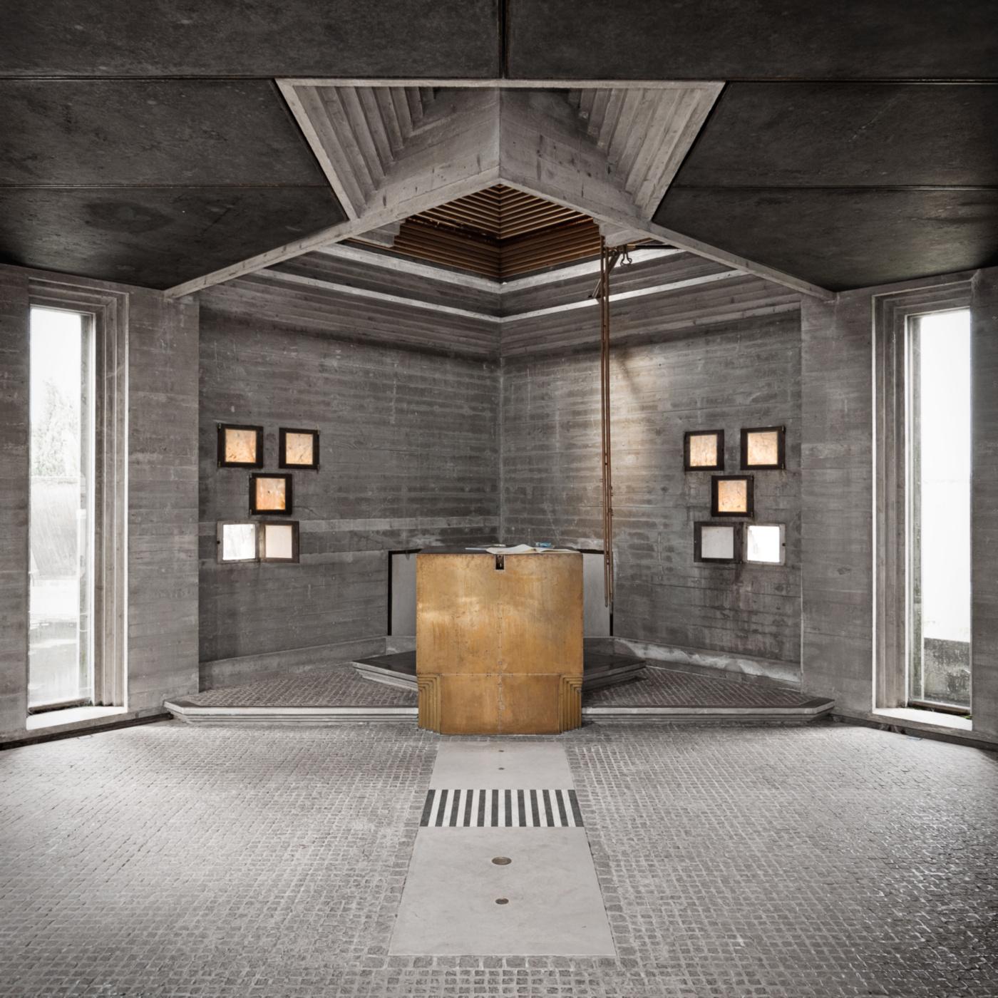 La Tomba Brion di Carlo Scarpa nelle fotografie di Carlo Deregibus | isola sesta