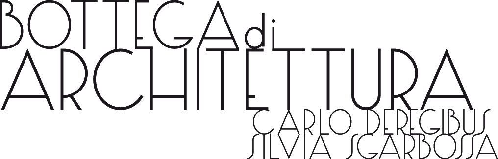 Bottega di Architettura Carlo Deregibus Silvia Sgarbossa logo