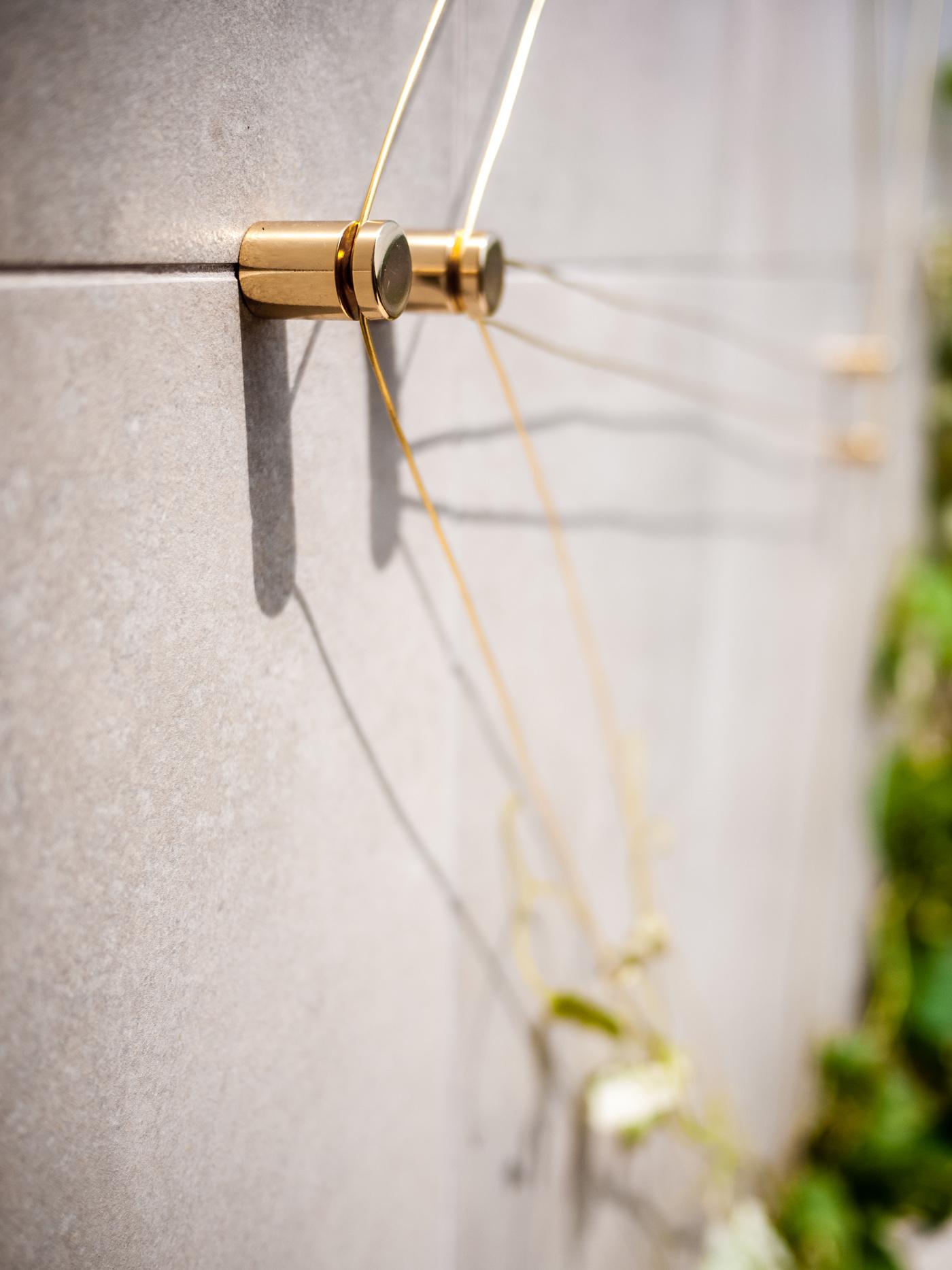 Costellazioni - un progetto che trasfigura sostegni per piante rampicanti in elementi di green design, preziosi in ogni periodo dell'anno | Geometrie stellari | Bottega di Architettura