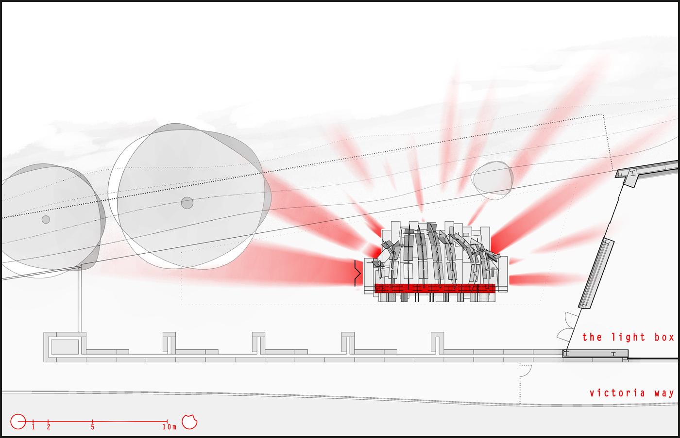 OHMU, una spettacolare architettura parametrica, e un padiglione per l'Art Fund Pavilion. Usi di OHMU | Bottega di Architettura