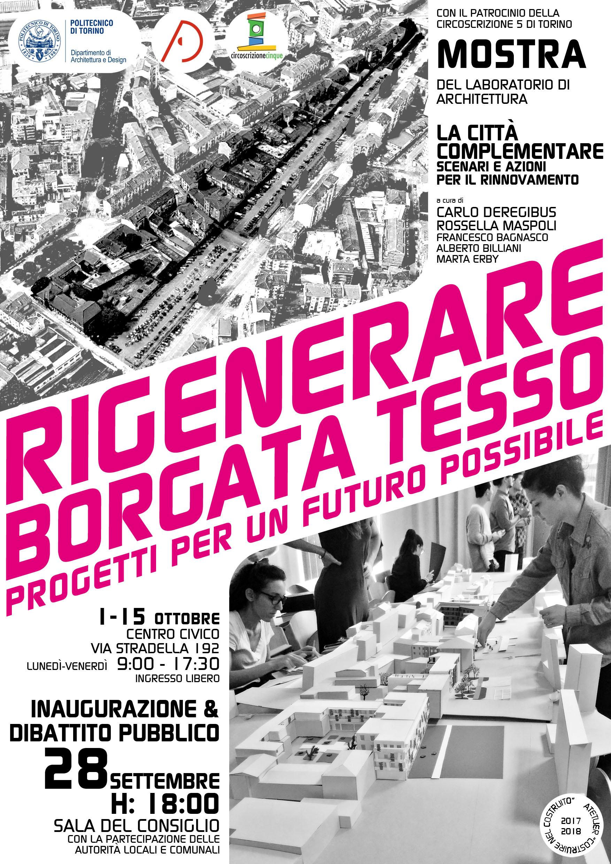 Locandina della mostra dei lavori del laboratorio diretto da Carlo Deregibus su morfologia e abitare   2018   Bottega di Architettura