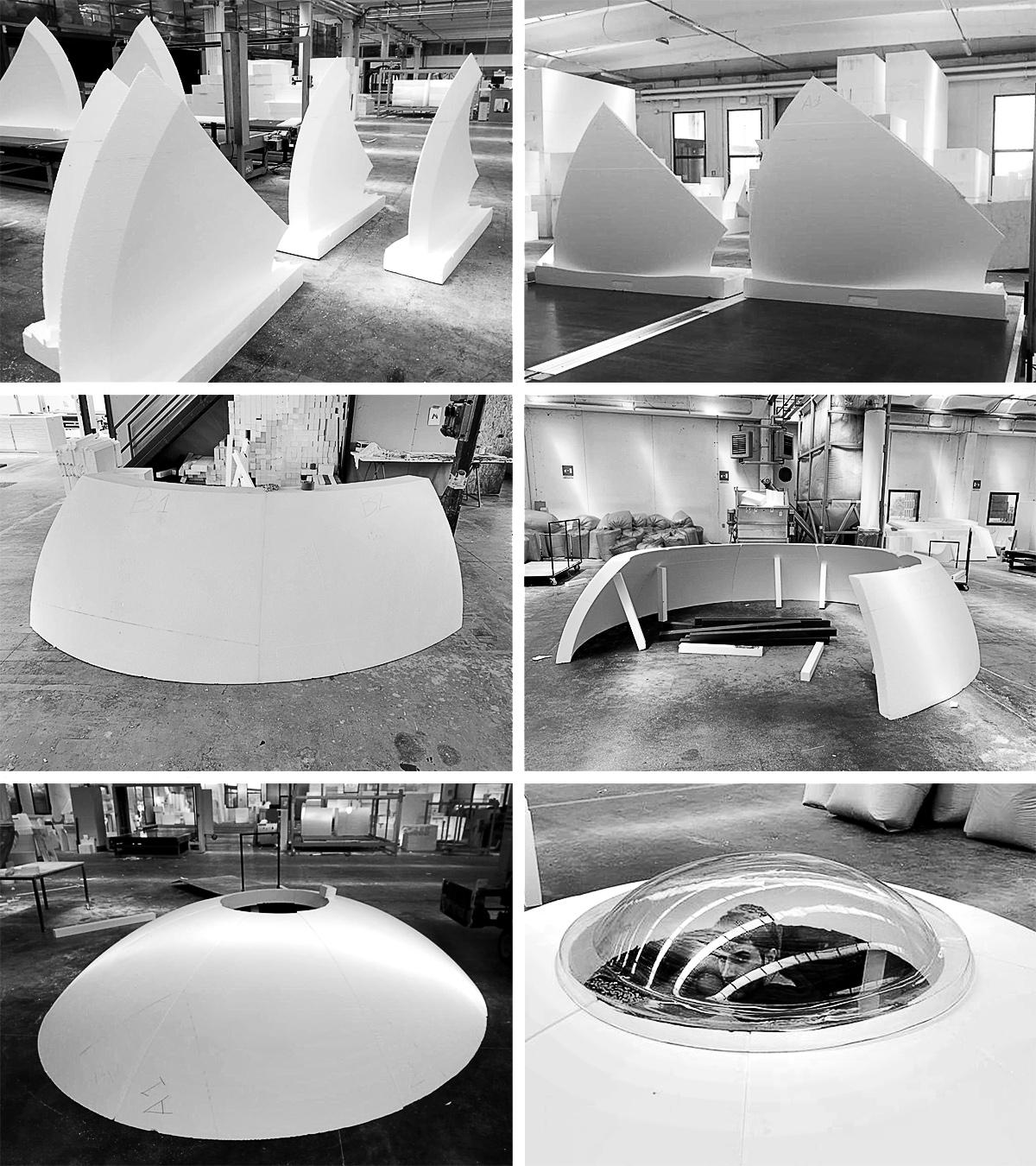 LA LUNA E IL COLOSSO | il montaggio della LUNA | Bottega di Architettura