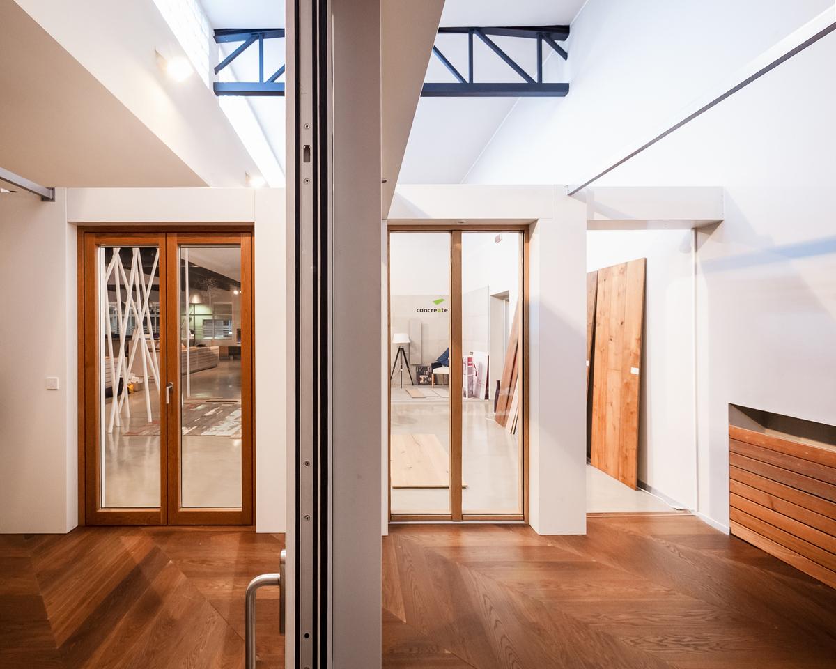 PARITAL | uno showroom nello showroom, un luogo in un luogo | punti di vista | Bottega di Architettura