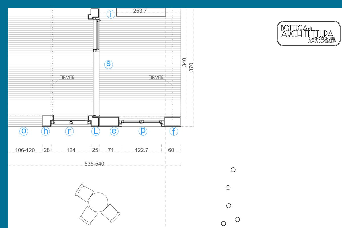 PARITAL | uno showroom nello showroom, un luogo in un luogo | pianta | Bottega di Architettura