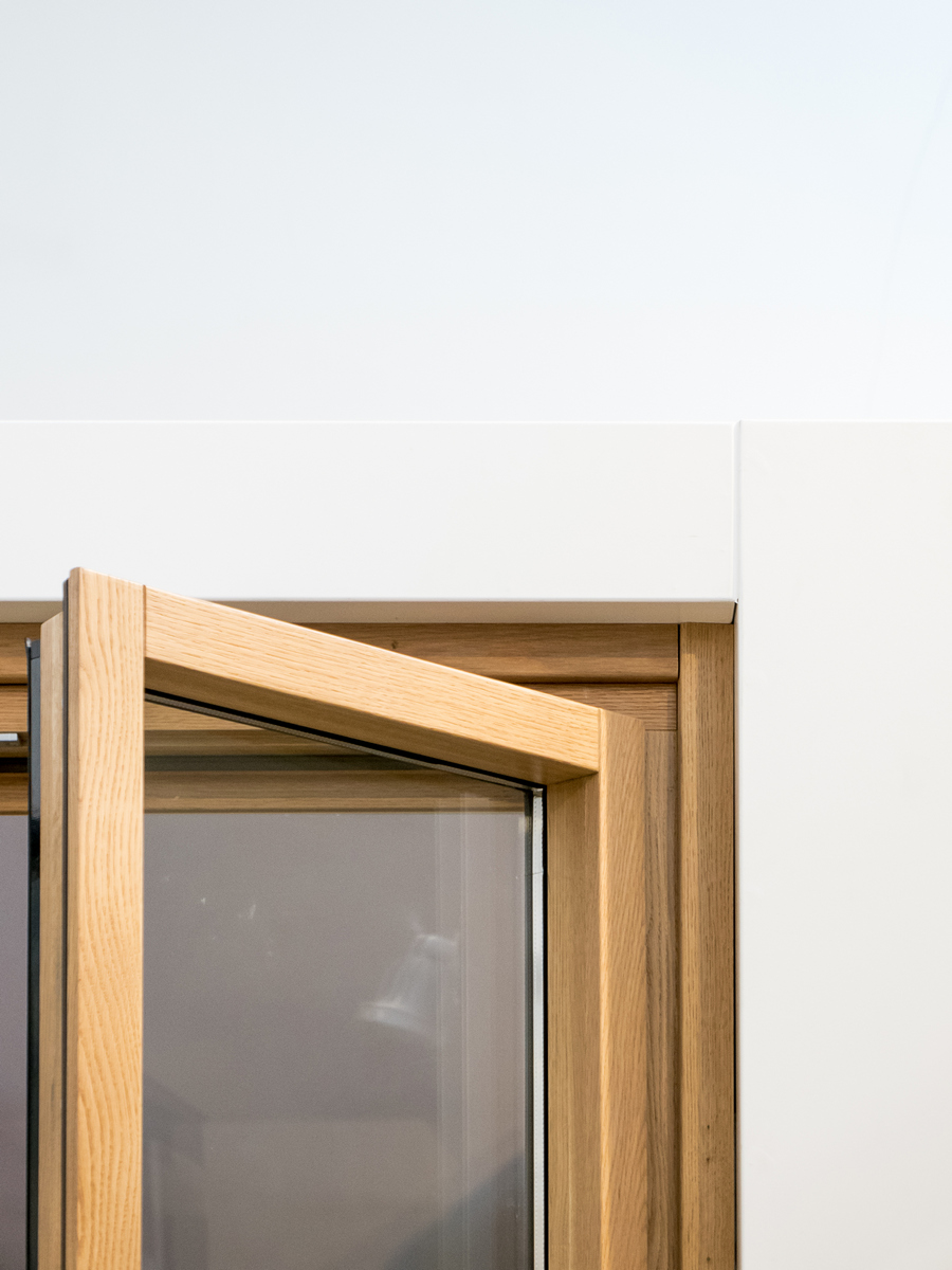 PARITAL | uno showroom nello showroom, un luogo in un luogo | dettaglio | Bottega di Architettura
