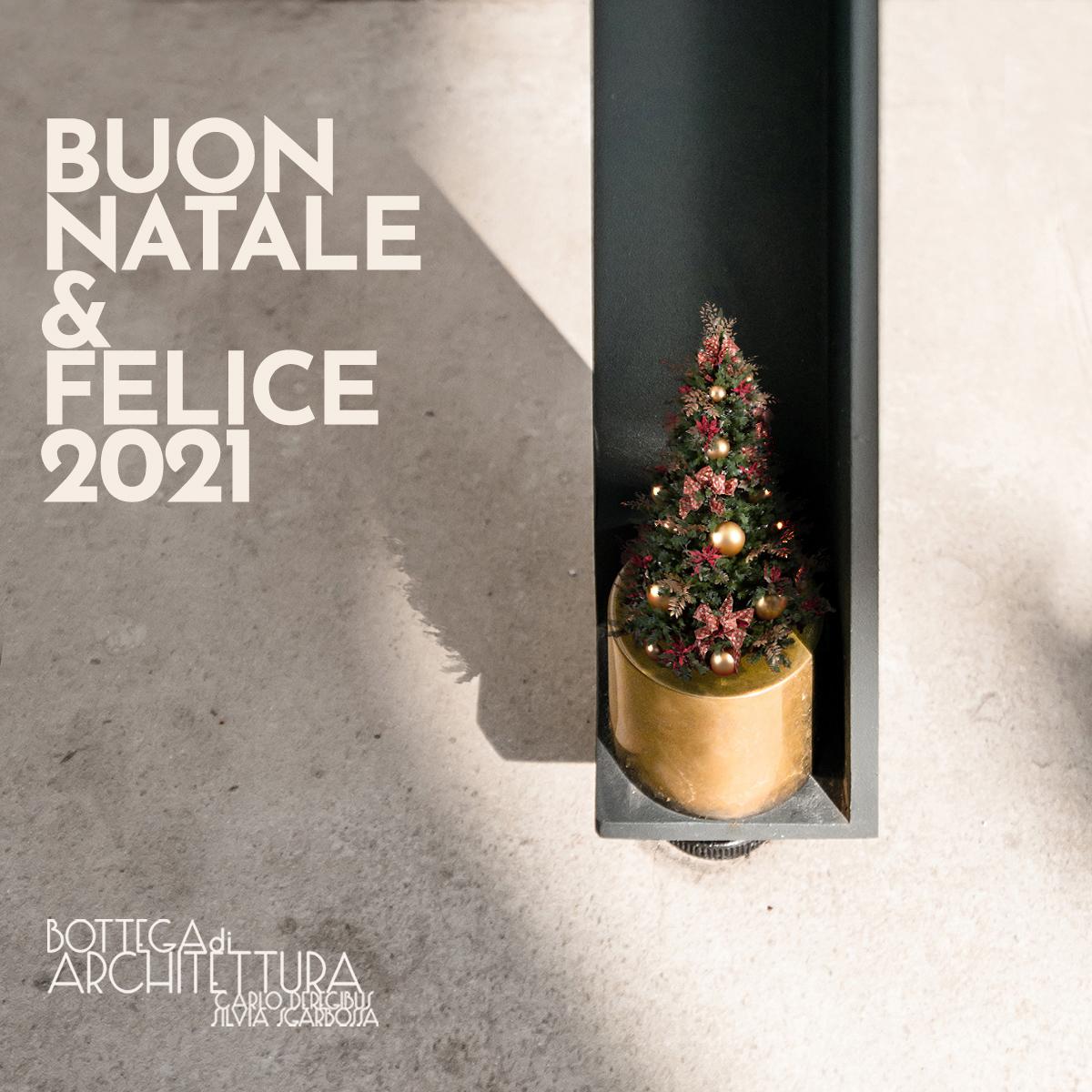 Auguri di buon Natale e per un felice 2021!